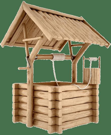 Процесс очищения колодца в Серпухове