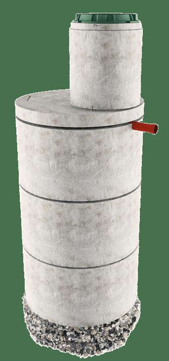 Септик из бетонных колец в Серпухове